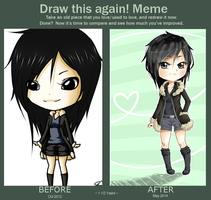 Before and After Meme (Izaya) by naoyi
