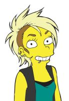 Lisa Simpson 2010 by melaleuca