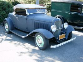 1932 Ford flathead V8 roadster by RoadTripDog