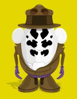 Mr Rorschach head by Lish0ffs