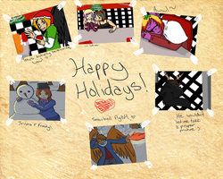 ORG: Happy Holidays by ChaosTearKitsune