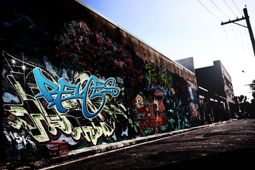 Graffiti Wall by Skribe414