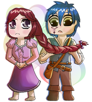 Tangled Jerza by Toramelle