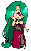 Charlotte Chibi (New Style) by CandiGhoul