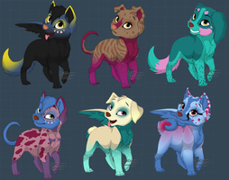 1 Point Puppys *Closed* by SierraSweet