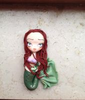 Ariel little mermaid by Mameah