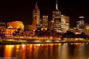 Melbourne After Dark 08 by Braunaudio