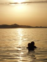 Couple and sunset 02 by pomeranc-stock