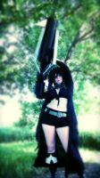 Black Rock Shooter Cosplay by Pathlon
