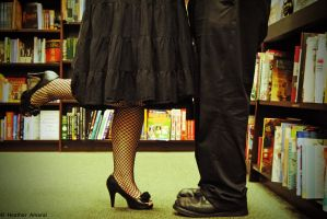 Love In The Stacks by GallyKaru