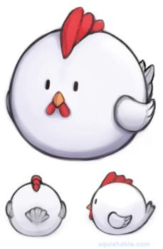Vote: Squishable Hen Plush! LAST DAY! by Mynxuu