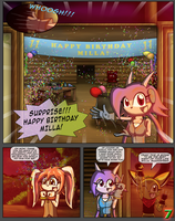 Freedom Planet Resurgence #1 Pg. 7 April 2015 by CCI545