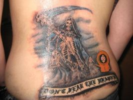Kenny Death tattoo by sexkitten094