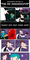 PnF: Doof n Perry Comic 'The De-Humaninator' by risaXrisa