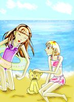 Tohru and Kisa Summer by Rainbowbubbles