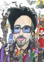 Tim Burton by hatoola13