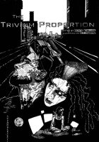 Trivium Proportion Front Cover BW by CEZacherl