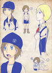 jill is so blue srsly by Athena-Sazuki