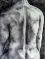 O - Nude Male by stanleyillustration