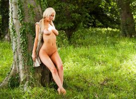 Naked amongst the trees by BikeBoyPunk