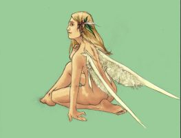 Resting Fae by Bjerg
