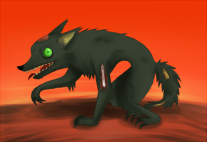 Wolf Dog Thing Idk by my-darkness