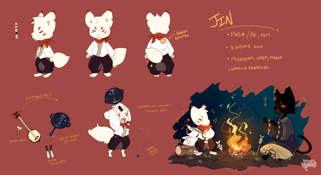 Jin Ref by catwitches
