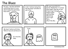 The Blues - uncolored by Autonomous-Ink