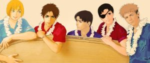 SNK: One direction by villainesayre