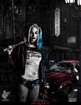 Harley - Come Play with Me by Thorulffr
