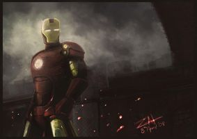 ironman by zalxemptyx