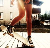 Sk8er Girl. by SarahCliffe