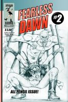 Fearless Dawn Pencil Cover by rattlesnapper