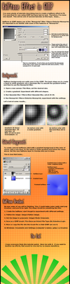 halftone effect in gimp by istarlome