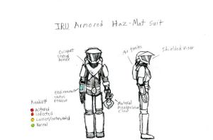 Armored Haz-Mat Suit MK IV by IrateResearchers