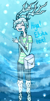 Eluka the Ice Faun (- Open for Asks -) by MythsandMonsters