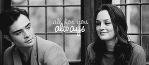 chuck and blair signature by MsCanines