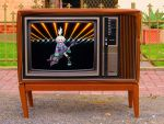 Roxie Rockin' on the Sanyo TV! by ryanthescooterguy