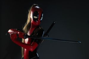 Lady Deadpool @Anime North 2013 01 by theARTofCARNAGE
