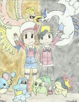 Heart Gold and Soul Silver by Nezumechan