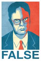 Dwight K. Schrute by blo0p