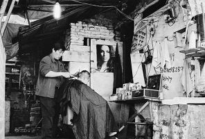 Another Streetside Barber Shop by avotius