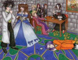 A Curious Scene in the Castle by Moros