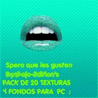 Pack de 20 texturas y fondos para PC by Majo-Editions