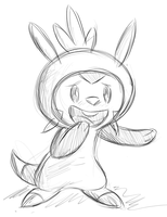 Chespin by FillyBlue