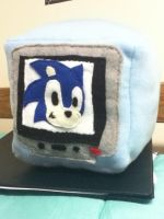 1-Up Cube - Sonic the Hedgehog by TheEccentric-1