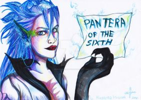 Pantera Of The Sixth by mdragonheartlove
