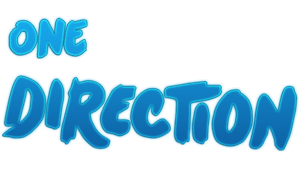 One Direction Texto Png by kozzmiqo