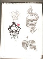 Skull Series 2 by stefano13