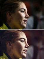 Hope Solo High End Retouch by Der-Alter-Mann